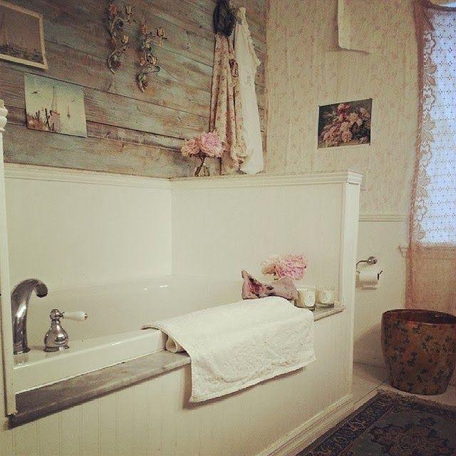 shabby chic prairie bathroom bathrooms pinterest. Black Bedroom Furniture Sets. Home Design Ideas