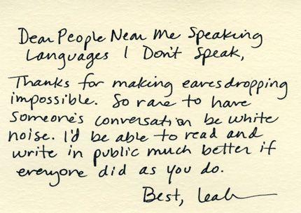Thx Thx Thx-- Thank-you Notes To Everything.
