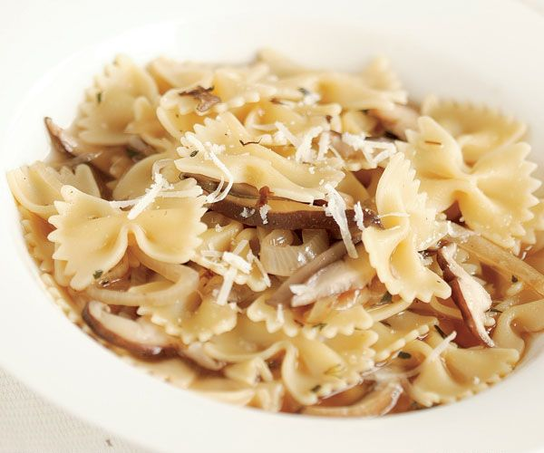 farfalle abruzzese with veal porcini and spinach chicken farfalle ...