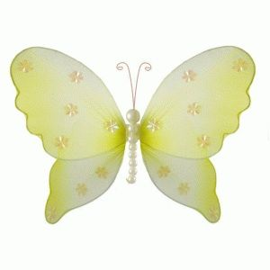 Yellow Butterfly Wall Decoration 46