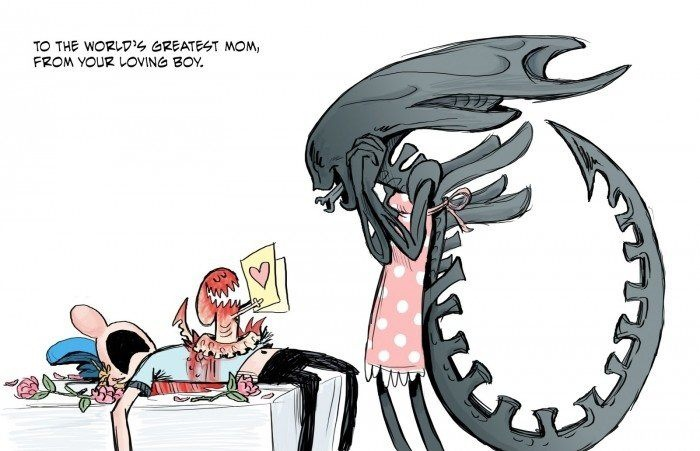 Mother's day - Every mother can have.... #Aliens