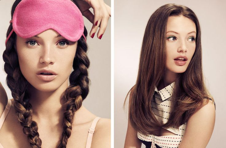 pigtail braids - Photographer- David Oldham