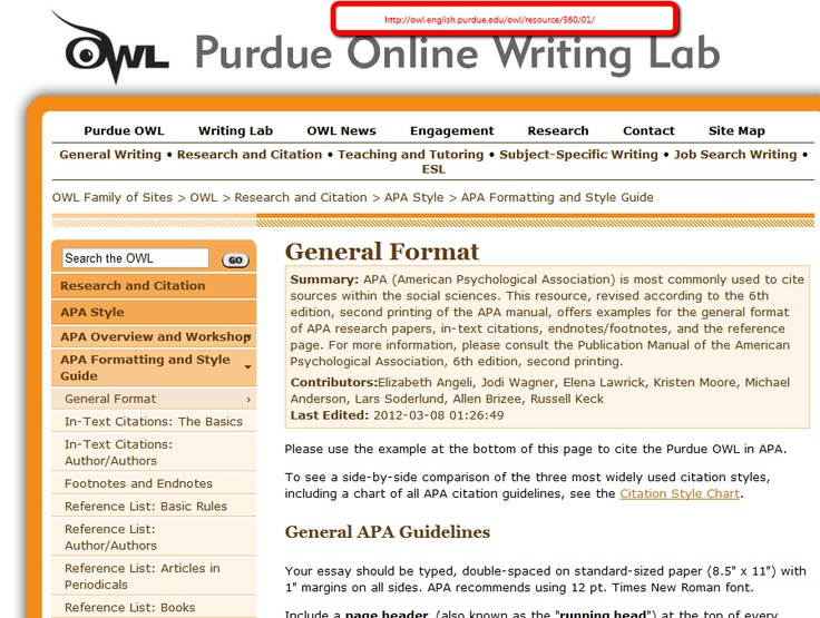 purdue owl literary analysis essay