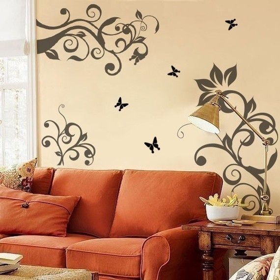 Bedroom Wall Stencils Ideas