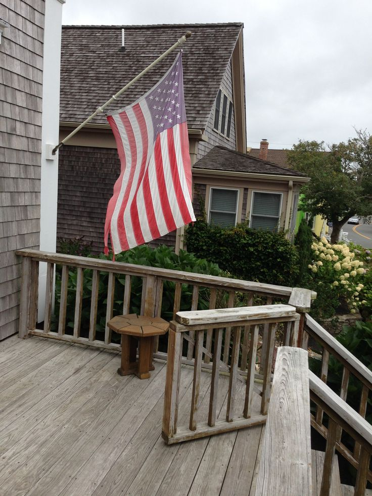 porch flags