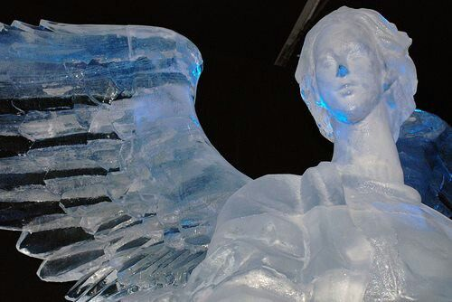 Angel ice sculpture   ...