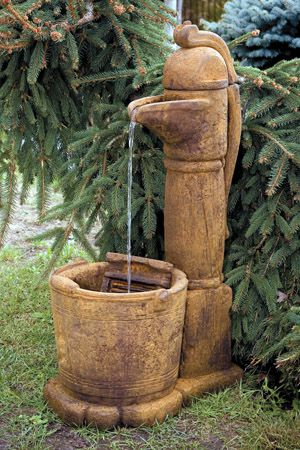 Jacksons Home And Garden COUNTRY PITCHER PUMP FOUNTAIN Call Us For