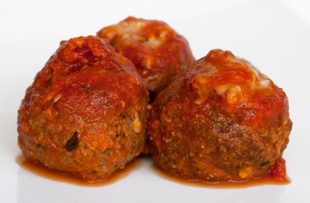 Meatballs at Frankie's Spuntino | NYC Foods I Wanna Try | Pinterest