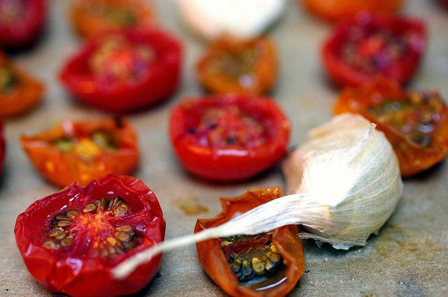 Slow Roasted Tomatoes - Smitten Kitchen This'll be great for the ...