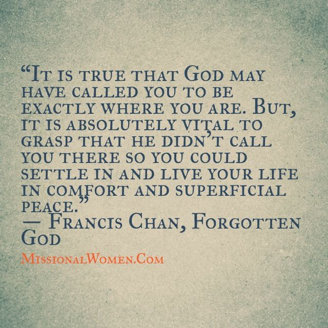 francis chan god centered relationship quotes