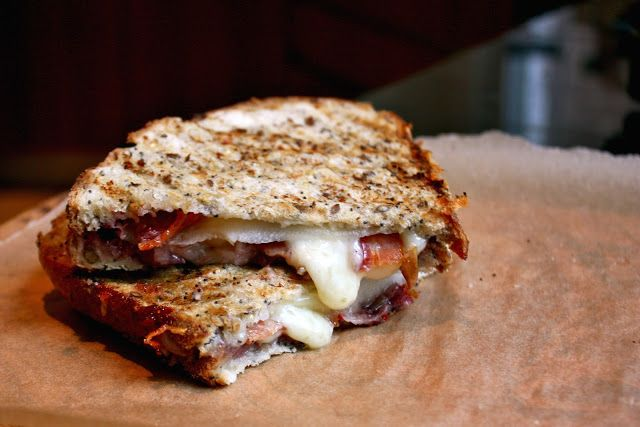 Cannella Vita: p to the seventh panini - Grilled Cheese with Bacon ...