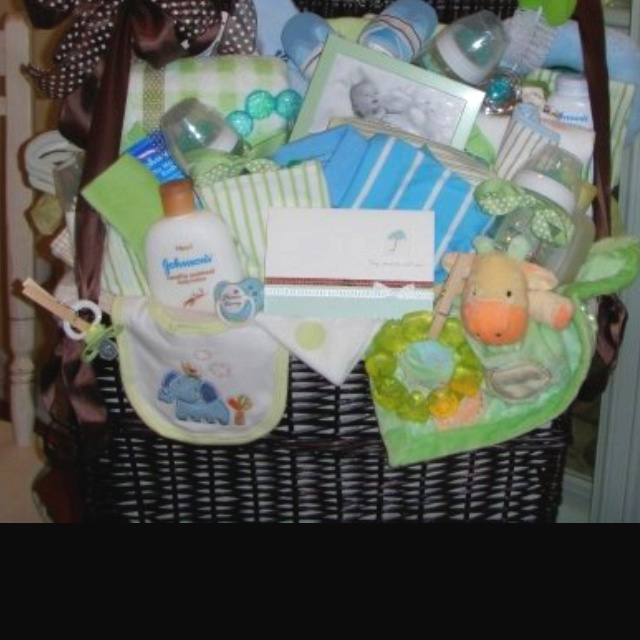 baby shower gift basket for boy gifts pinterest