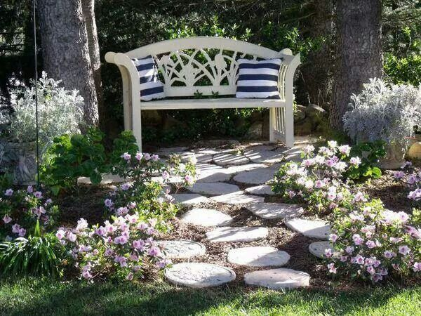 Charming Seating Area Landscaping Pinterest
