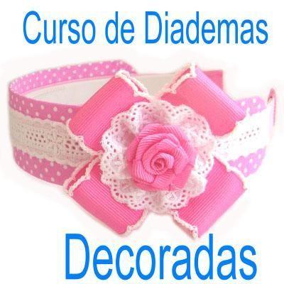 Curso como hacer moos balacas diademas decoradas share - Como hacer diademas ...