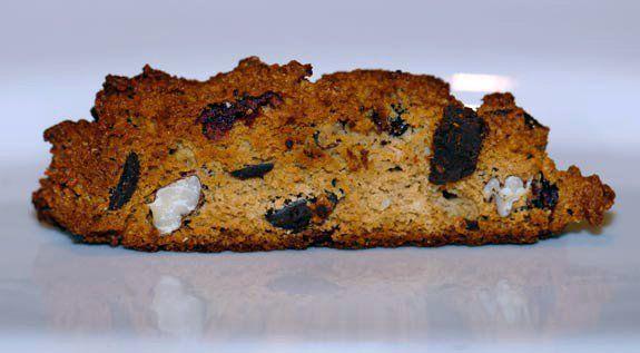 gluten free cranberry chocolate biscotti recipe/Elena's Pantry