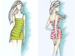 croquis de vestidos - Pesquisa Google