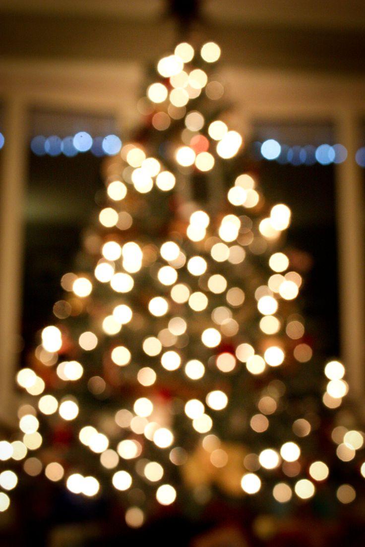 blurry christmas lights merry - photo #8