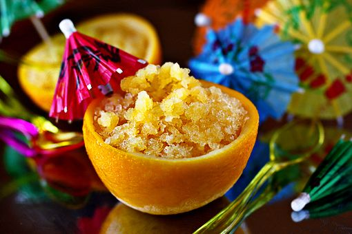 orange granita recipe with step-by-step images, orange slushie recipe ...