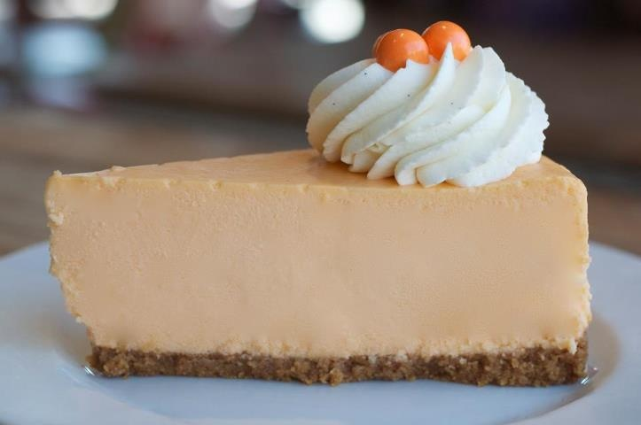 Creamy, dreamy Orange Cheesecake