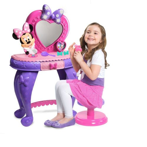 Just play minnie mouse vanity toys make up disney bow ebay