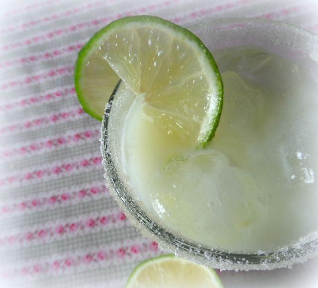 ... Lemonade* 1 cup sugar 6 cups cold water 4 limes juiced 6 TBS condensed