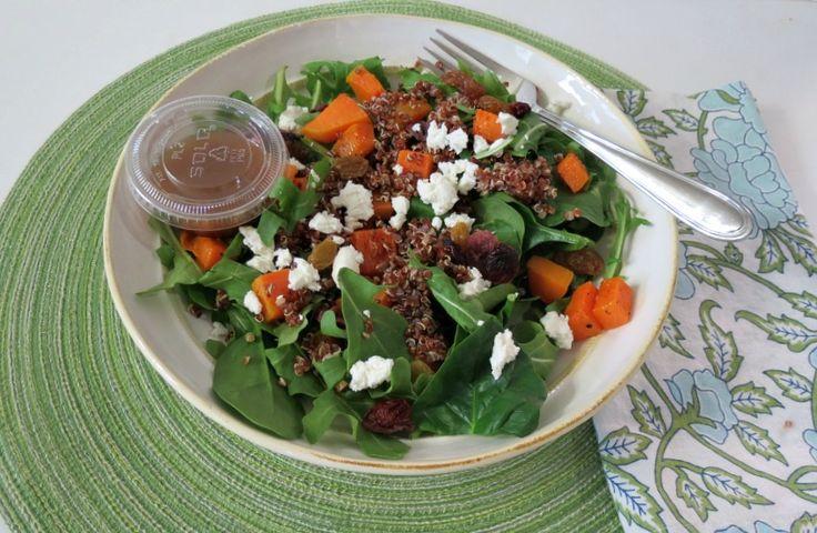 Roasted Butternut Squash & Quinoa Salad - A sweet and savory salad ...