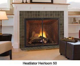 HEATILATOR NOVUS GAS FIREPLACE - FIREPLACES | OUTDOOR