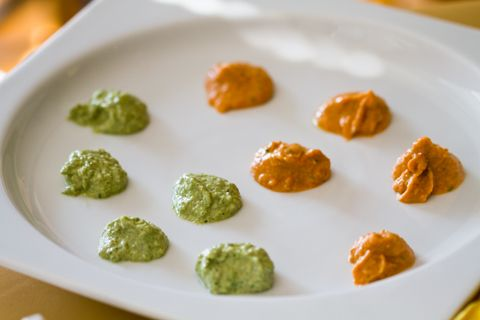 Slow-Roasted Or Sun-Dried Tomato And Basil Hummus Recipes — Dishmaps