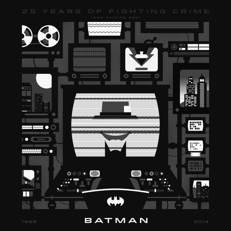 Batman 25th Anniversary Illustration