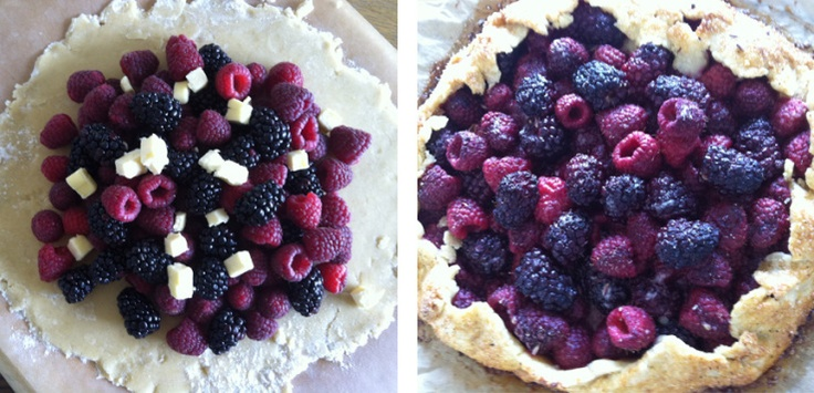 Berry Galette | Verry Berry Merry | Pinterest