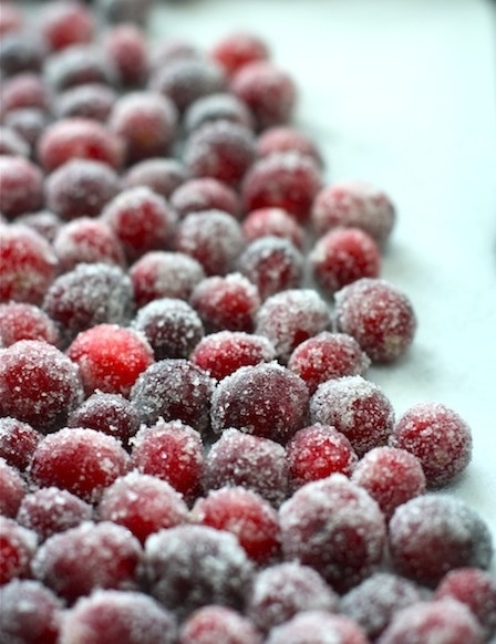 Sparkling Cranberries...easy but just in case