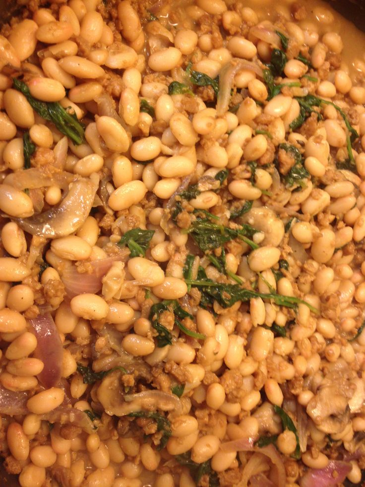 Curry beans with ground veggies (Substitute ground veggies to ground ...