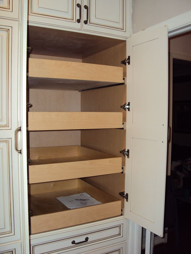 Custom Pantry Pull Out Drawers Kitchen Ideas Pinterest