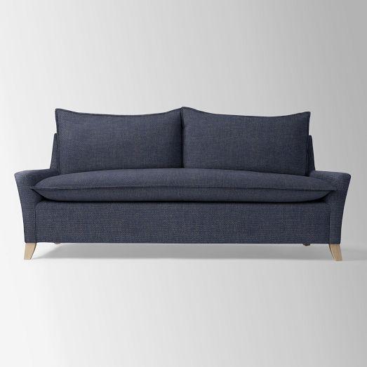 bliss sleeper sofa west elm the new house pinterest. Black Bedroom Furniture Sets. Home Design Ideas