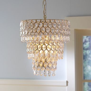 I love the Teardrop Chandelier on pbteen.com