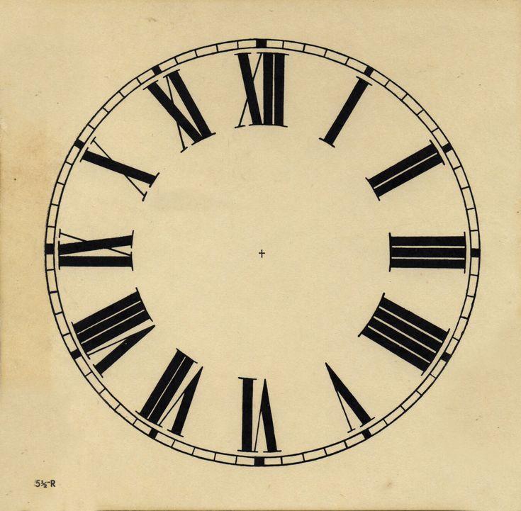 Printable Clock Face | Clocks | Pinterest