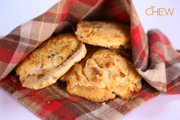 Cheddar, Jalapeno, and Bacon Biscuits #TheChew #Bacon