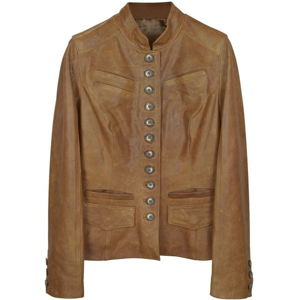 Forzieri Light ... Leather Jackets For Women Light Brown
