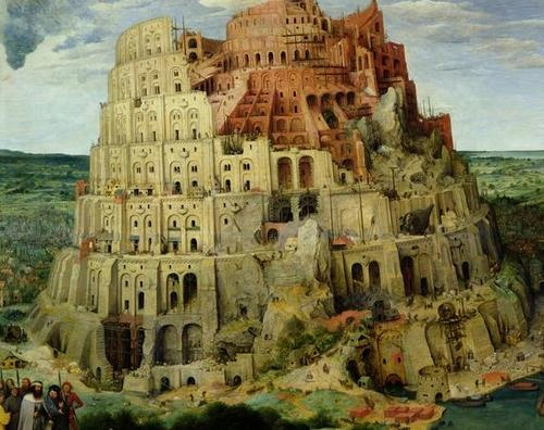 Where Was The Tower Of Babel Painted
