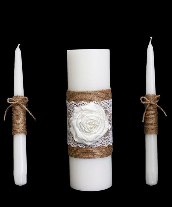 Hey, I found this really awesome Etsy listing at https://www.etsy.com/listing/183203188/rustic-wedding-candle-set-rustic-wedding