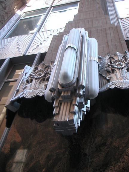 New York Architecture Images- New York Art Deco Metalwork