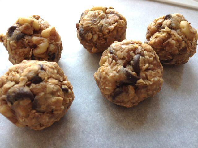 no bake granola breakfast balls bars vegan vegetarian peanut butter ...