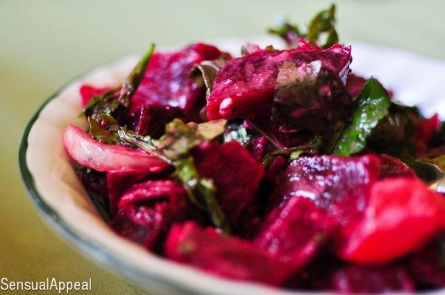 Beet & Tomato Spring Salad | Recipe