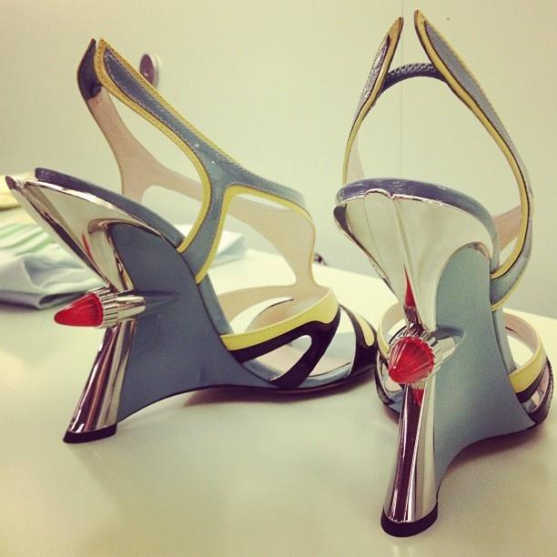 nicolette mason // prada #shoes #heels