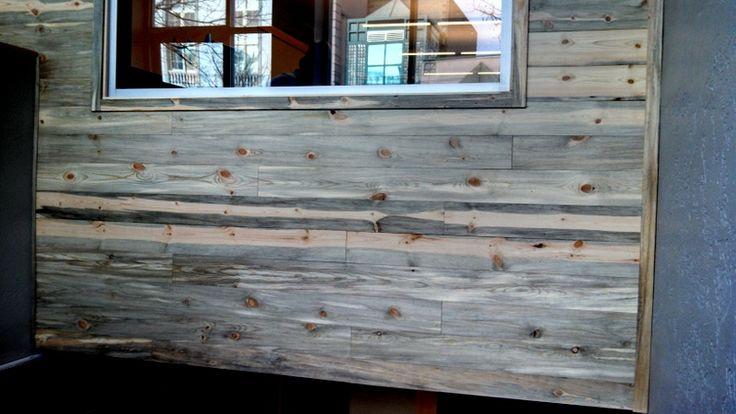 Sustainable lumber co beetle kill pine paneling