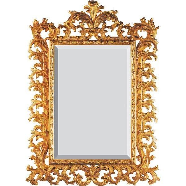 Gold wall mirror 5 ft tall traditional gold leaf new for Tall gold mirror