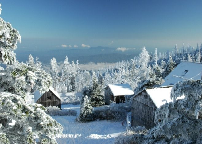 Mount Leconte, Smoky Mountains.... a favorite hangout of ours