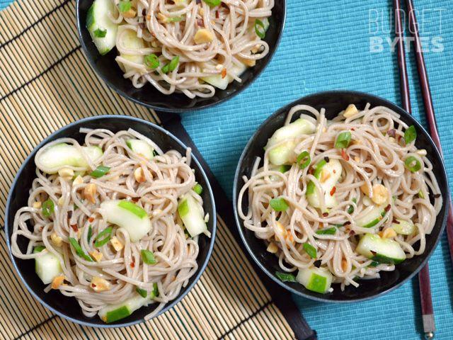 Cold Soba & Cucumber Salad | Recipe