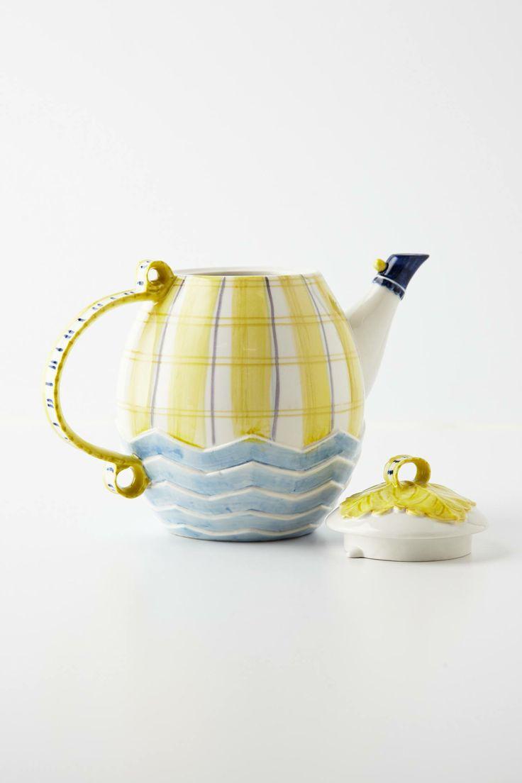 tartan tea set