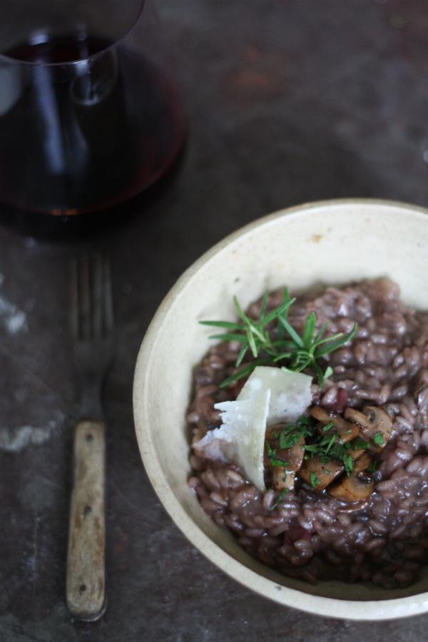 Mushroom Red Wine Risotto - Aftertaste by Lot18